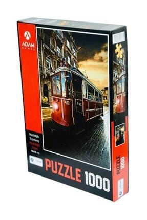 1000 Parça Puzzle - Nostaljik Tramvay 1000 PARÇA