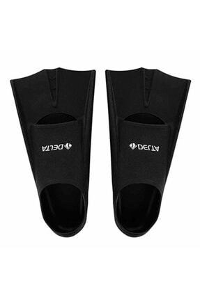 Delta Unisex Siyah Deluxe Silikon Havuz Ayak Paleti  44-46