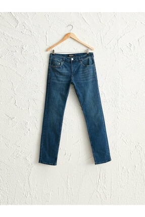 Erkek Orta Rodeo Slım Fit Jeans 0WDH01Z8