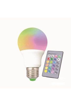 1o Watt Rgb Ampul Uzaktan Kumandalı RGB1000