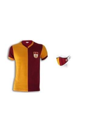 Galatasaray Unisex Kırmızı Metin Oktay Forması Maske Hediyeli