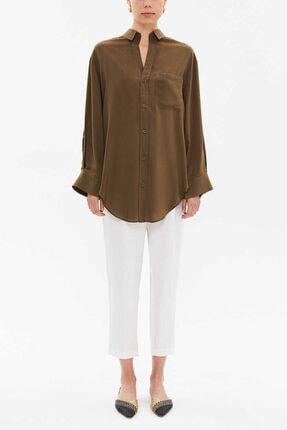 Societa Kadın Haki Gömlek