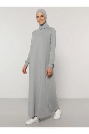 Everyday Basic Kadın Mavi Düz Renk Spor Elbise 1675236