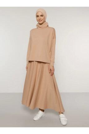 Everyday Basic Kadın Camel Bluz&Etek İkili Takım 1686841