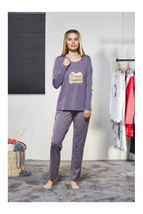 PJS PİJAMA Kadın Uzun Kol Pijama Takım