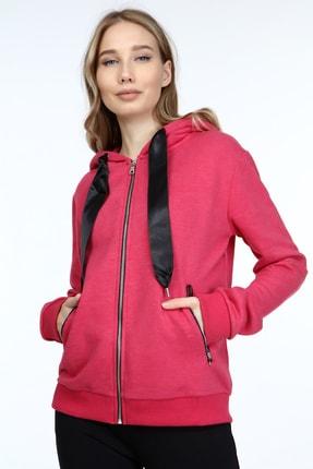Home Store Kadın Kırmızı Sweatshirt 2065021901307