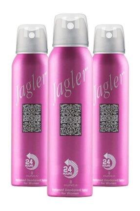 Jagler Kadın Deodorant 150 Ml X3