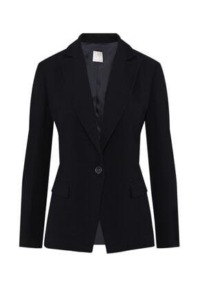 W Collection Kadın Siyah Basic Ceket