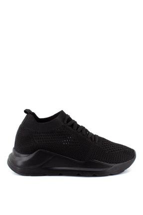 Hammer Jack Kadın Siyah Franco Bağcıklı Spor Ayakkabı  580507z