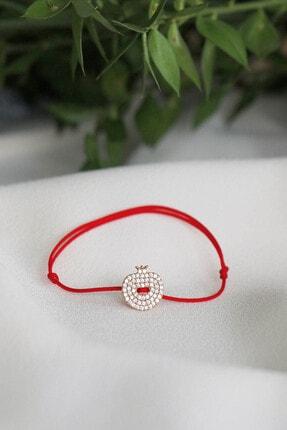 Lima Designers Kırmızı Ip Nar Bileklik