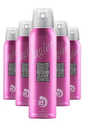 Jagler Kadın Deodorant 150 Ml X5