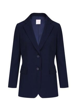 W Collection Kadın Lacivert Ceket