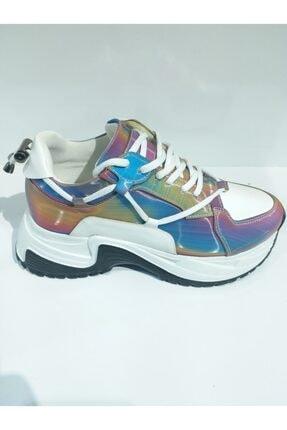 POLETTO Kadın Beyaz Spor Ayakkabı