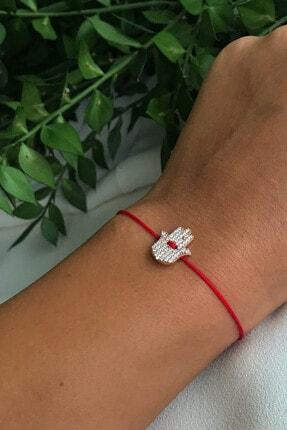 Lima Designers Kırmızı Ip Fatmaeli Bileklik