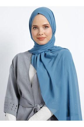 Tuva Kadın Şifon Şal Açık Mavi 633418