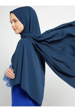 Tuva Kadın Medine İpeği Şal İndigo 700753