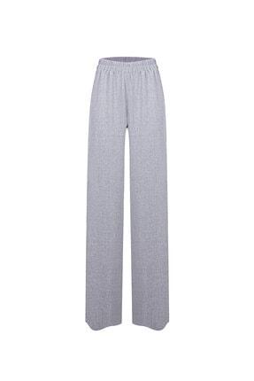RİVUS Kadın Gri Aesculus Beli Lastikli Pantolon