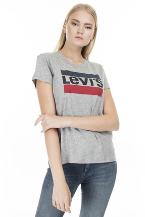 Levi's Kadın Sportswear Logo T-shirt 17369-0303