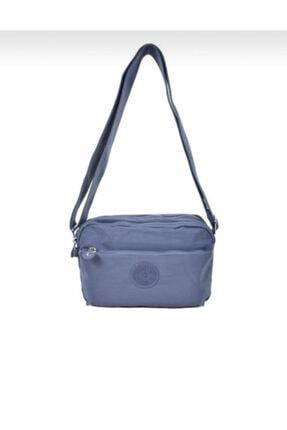Smart Bags Kadın Gri Krinkıl Kumaş Çapraz Çanta Smb3029