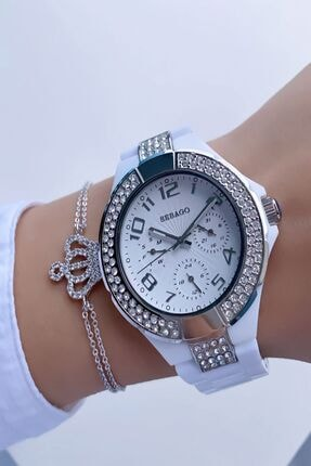 Sebago Kadın Beyaz Kol Saati