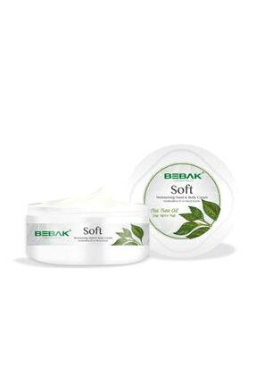 Bebak Nemlendirici El & Vücut Kremi - Soft Tea Tree Moisturizing Hand & Body Cream 300 Ml 8690841013394