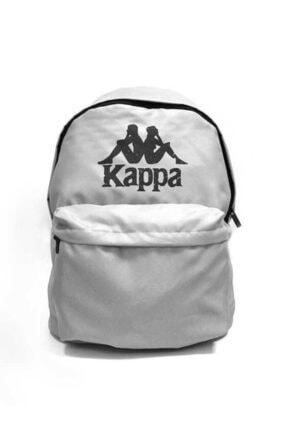 Kappa Unısex Gri Basıc Sırt Çantası