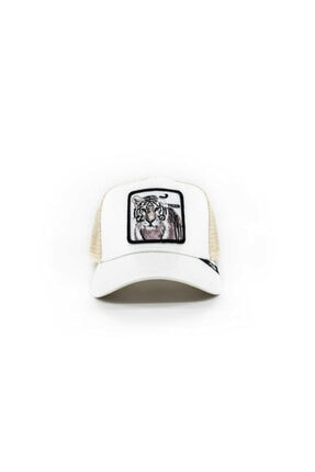 Goorin Bros Unisex Killer Tiger Beyaz Standart Şapka 101-0606