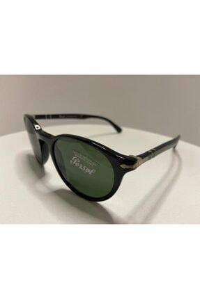 Persol Unisex Siyah Optik 3152-s 9014/31 49/20 Oval Güneş Gözlüğü