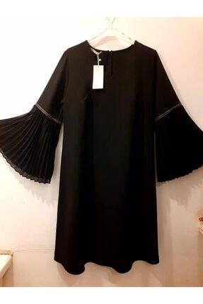 Kadın Büyük Beden Elbise SİYAH BÜYÜK BEDEN ELBİSE