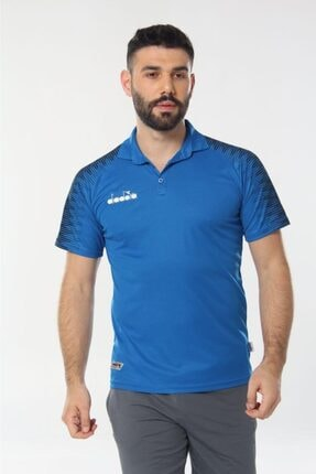 Diadora Unisex Mavi Ritim Kamp Polo T-shirt