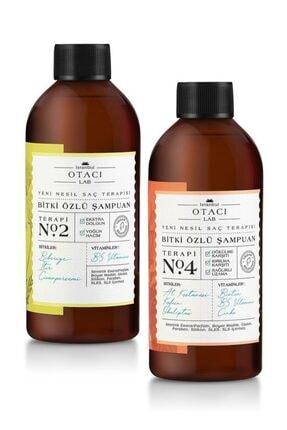Otacı Lab Bitki Özlü Şampuan Terapi No:2 Ve No:4 Ikili Set