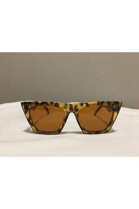 Escape  Kadın Kahverengi Leopar Cat Eye Güneş Gözlüğü