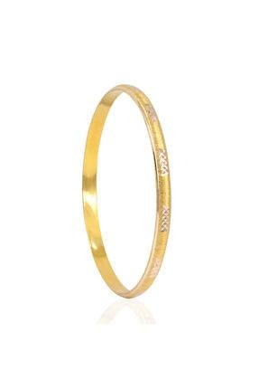 Myra Gold Lazerli 14 Ayar Altın Bilezik