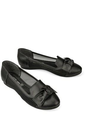 Punto Kadın Fiyonklu Düz Taban Babet Ayakkabı 403008