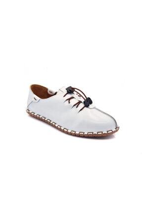 Dexter Kadın Beyaz Bağcıklı Ayakkabı