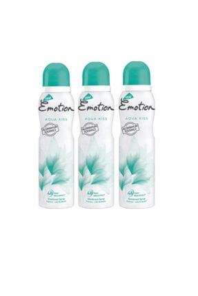 Emotion Aqua Kiss 150 Ml Deodorant X 3