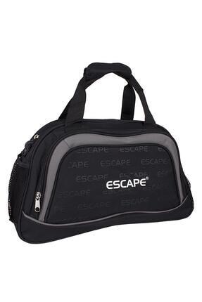 Escape  Unisex Siyah Seyahat Çantası