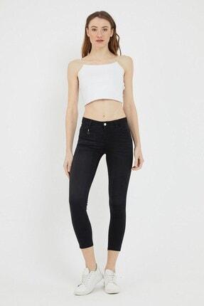 VENA Kadın Siyah Denım Pantolon