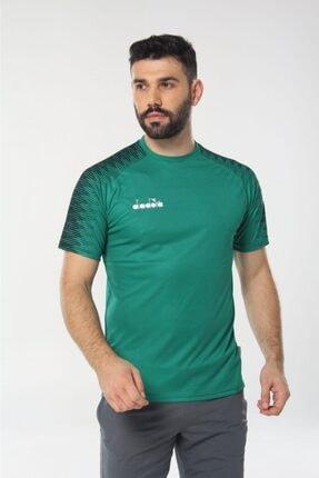 Diadora Unisex Yeşil Ritim Antrenman T-shirt
