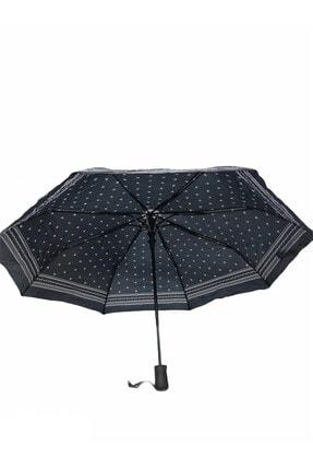 Almera Kadın Siyah Yarı Otomatik Şemsiye