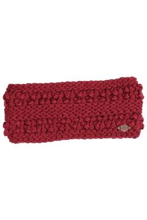 NORDBRON Kadın Kırmızı Jupe Headband Saç Bandı