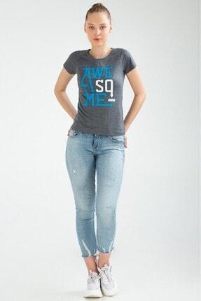 Speedlife Kadın Lacivert Winning Tişört