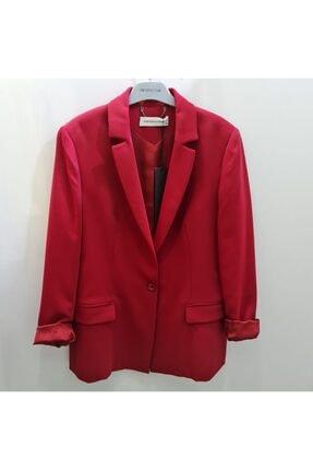 Perspective Kadın Kırmızı Blazer Ceket