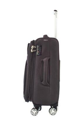ITLUGGAGE Gri Unisex Kabin Boy Valiz IT2078-S