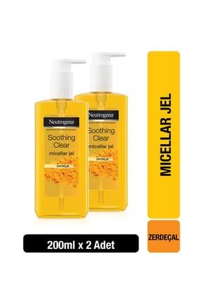 Neutrogena Neutrogena Soothing Clear Micellar Jel 200 ml x2