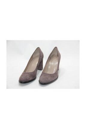 Kadın Kahverengi 40 Numara Kalın Topuklu Ayakkabı EFL0669