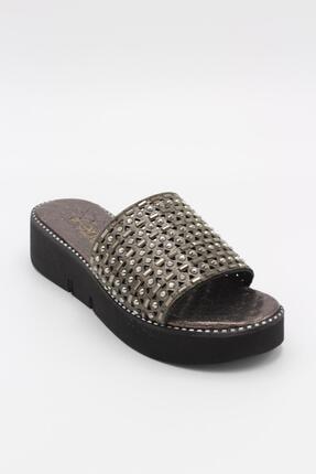 Fendi P3-wt40 4 Cm Topuklu Şık Kadın Terlik