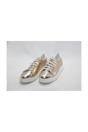 İnci Kadın Altın Spor Sneaker Ayakkabı