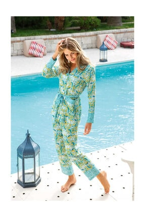 Berrak 860 Kadın Pijama Takımı - Mint
