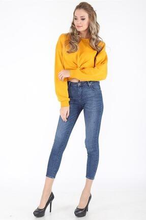 Twister Jeans TWİSTER JEANS EVA 9028-47 BAYAN LİKRALI TAŞ İŞLEMELİ KOT